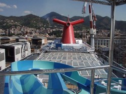 The deck of the Carnival Splendor being constructed.jpg