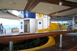 Entrance to stairs for water slide aboard Royal Caribbean Explorer of the Seas.jpg