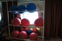 Yoga Balls at Explorer of the Seas Gym.jpg