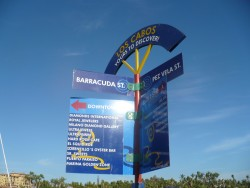 Where Barracuda St and Pez Vela St intersect at Cabo.JPG