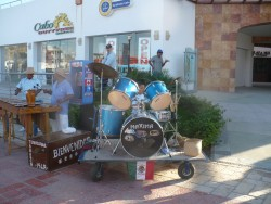 A child drummer at a band near the Cabo Cruise Terminal.JPG