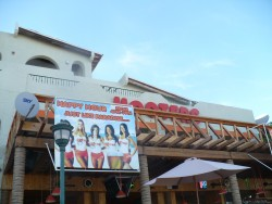 Hooters restaurant at the Cabo pier walk.JPG