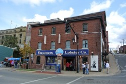 Steamers Lobster Co. Water St in St John New Brunswick.jpg