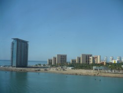 View of some hotels and resorts in Puerto Vallerta from the NCL Star.JPG