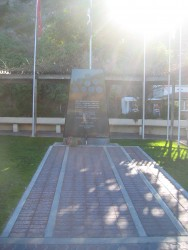A Memorial dedicated to War Veterans, Avalon, Catalina