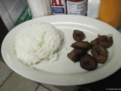 puerto sagua white fried plantains and white rice.jpg