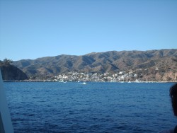 Another view of Catalina Island from tender