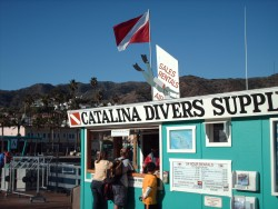 Catalina Divers Supply shack