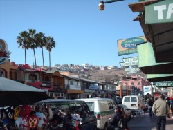 The Streets of Ensenada, Mexico