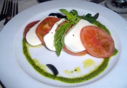Carnival Cruise Food  - Beefsteak with Fresh Tomatos and Buffalo Mozzarella Cheese.jpg