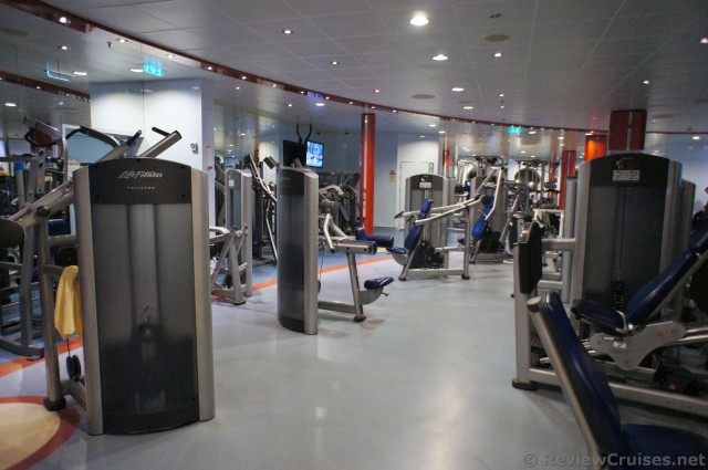 Weight Machines At The Oasis Of The Seas Gym Jpg Hi Res
