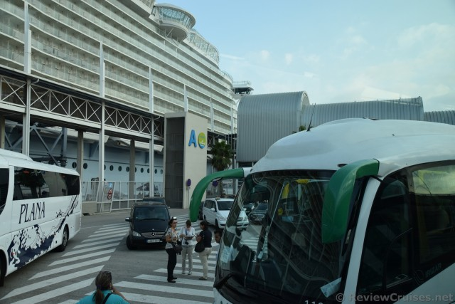 Barcelona Cruise Port Parking Lot for Excursion & Airport Buses.jpg
