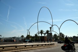 Arches & Loops of Roundabout near Cruise Port of Barcelona.jpg