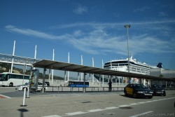 Barcelona Cruise Port Taxi Stand.jpg