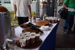 Snacks and Coffee Provided at Barcelona Cruise Terminal.jpg