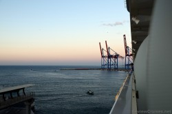 Loading Cranes at Port of Malaga seen from Oasis of the Seas cruise ship.jpg