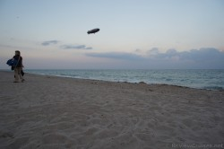 Good Year Blimp over the waters of Fort Lauderdale by the Sea beach.jpg