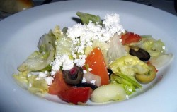 Carnival Cruise Food  - Greek Salad with Feta Cheese.jpg