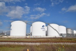 Odfjell tanks near the Bayport Cruise Terminal in Houston.jpg
