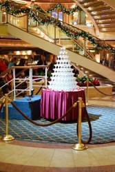 Glassware Pyramid on Deck 5 of Emerald Princess.jpg