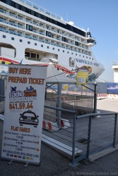 Prepaid Taxi Area for RadioTaxi @ Venice Cruise Port.jpg