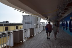 Walking to Gangway to Disembark Cruise Ship in Venice Port.jpg