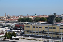 Building 107 Seen from Cruise Ship docked at Venice Cruise Port.jpg