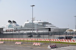 Seaborn Odyssey Cruise Ship docked at Venice Cruise Port.jpg