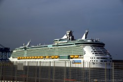 Royal Caribbean Liberty of the Seas docked @ Port of Civitavecchia.jpg