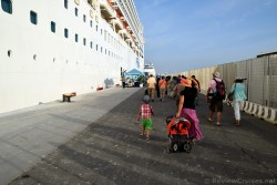 Guests Returning to Norwegian Spirit Ship After Excursion in Rome.jpg