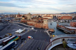 Fort @ Port of Livorno seen from Cruise Ship.jpg
