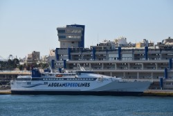 Aegean Speed Lines Ship @ Port of Piraeus.jpg
