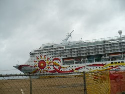 NCL Sun - Belize City - Dock 4