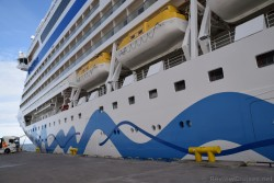AIDA Diva Port Side Bow View While Docked @ Tallinn Estonia.jpg