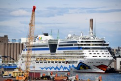 AIDA Diva Cruise Ship Full Starboard Side View.jpg