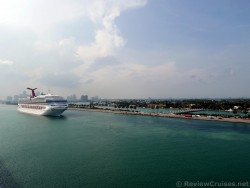 Cruise Ship Sailing Next to MacArthur Causeway Miami.jpg
