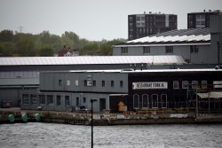 Restaurant Stork.NL Seen from Opposite of Amsterdam Cruise Port.jpg