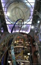 Atrium view of Elevators & Roof Above Royal Promenade aboard Explorer of the Seas ship.jpg