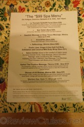 NCL $99 Spa Menu aboard Norwegian Dawn.jpg