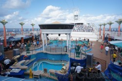 Norwegian Dawn pool deck on embarkation day.jpg
