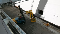 Loading the luggages on to the ship.jpg