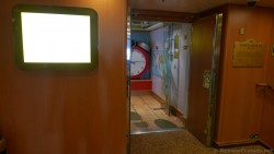 Entrance of Pelican kids area on Ruby Princess ship.jpg