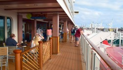 Norwegian Escape Deck 8 Pictures