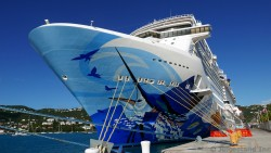 Norwegian Escape in St Thomas