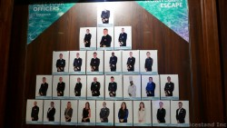 Norwegian Escape Officers Photos and Names