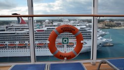 Norwegian Escape Life Ring Ship in Nassau