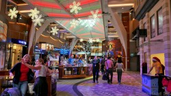 Central Shopping Area of Allure of the Seas Royal Promenade