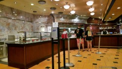Inside Sorrentos Pizza Ordering Area Allure of the Seas