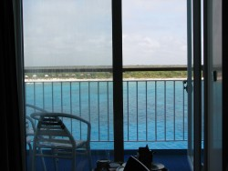 Norwegian Sun Balcony Stateroom View of Coasta Maya.jpg