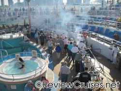 Outdoor BBQ buffet on pool deck of Norwegian Dawn.jpg
